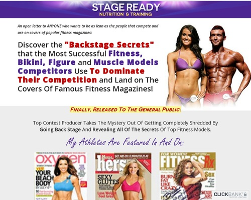 Stage Ready Nutrition & Training