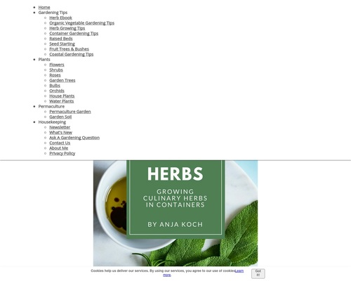 'YummyHerbs' – Growing Culinary Herbs In Containers – Ebook