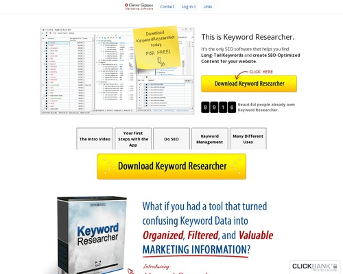 Keyword Researcher – SEO Software / Finds Long Tail Keywords