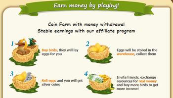 Investment Farm With Money Withdrawal