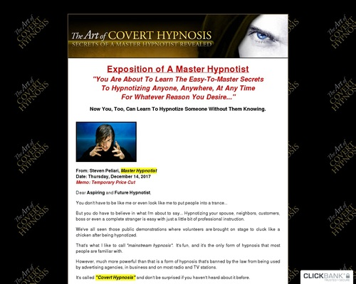 How To Hypnotize Someone – The Art Of Covert Hypnosis