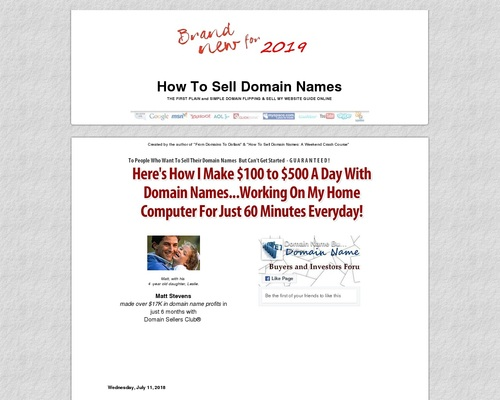 NEW How To Sell Domain Names | Plain and Simple Domain Flipping & Sell My Website Guide