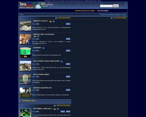Downloadable Games Collection for PC.