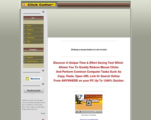 Click Cutter – Copy paste tool | automatic online search tool.