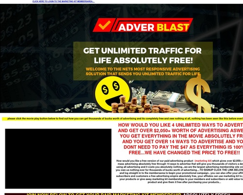 Marketing Kit – Gain $2,050+ Worth Of Advertising And Free Businesses