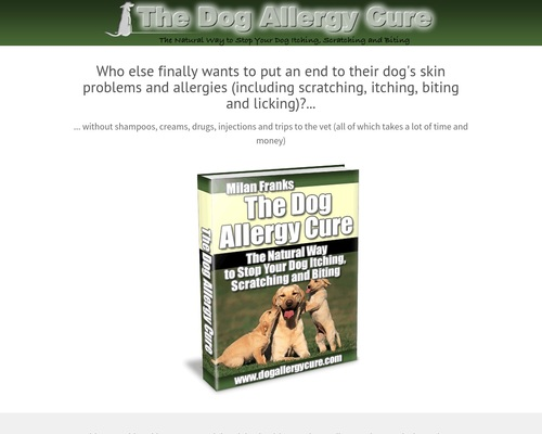 The Dog Allergy Cure: The Natural Way