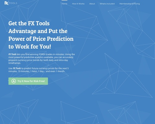 Fxtools – Forex Currency Price Prediction Software