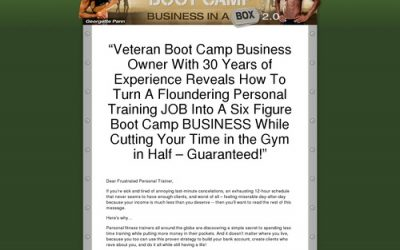Sure Victory- Fitness Bootcamp Pro Package