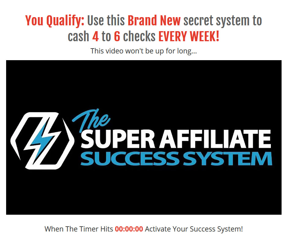Super Affiliate System Review: